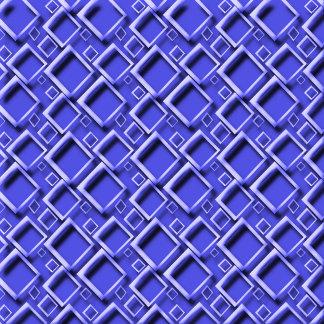 Diamonds 3D Effect Blue