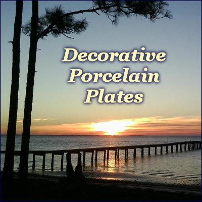 Decorative Porcelain Plates