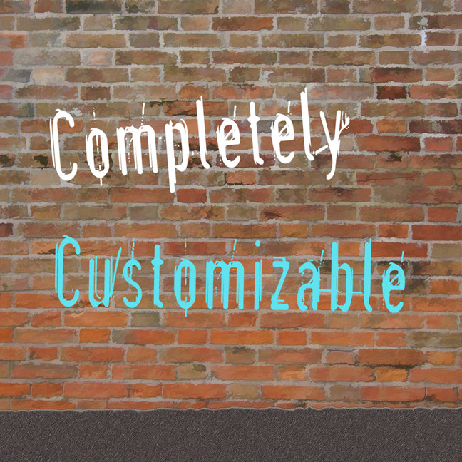 Completely CUSTOMIZABLE Creative Templates