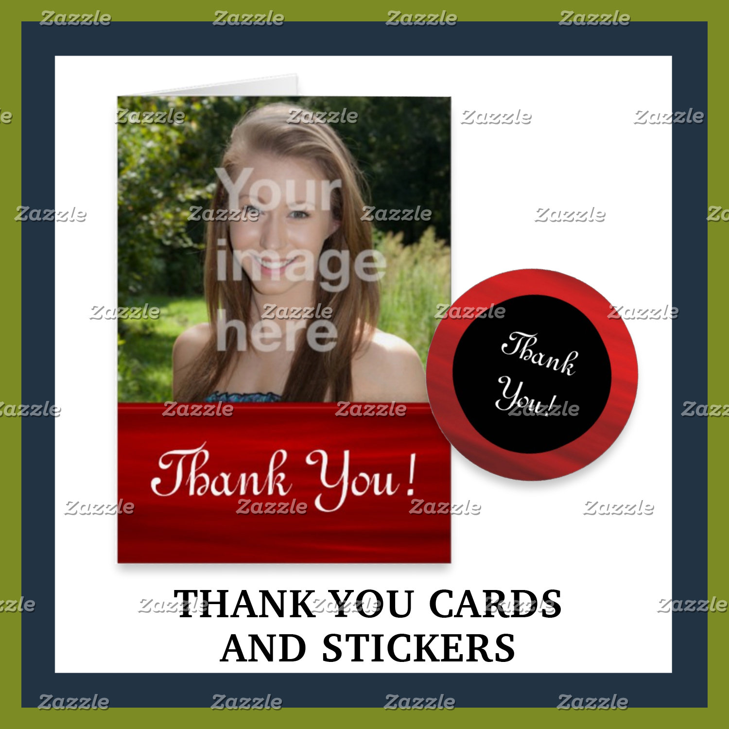 Thank You Cards and Stickers