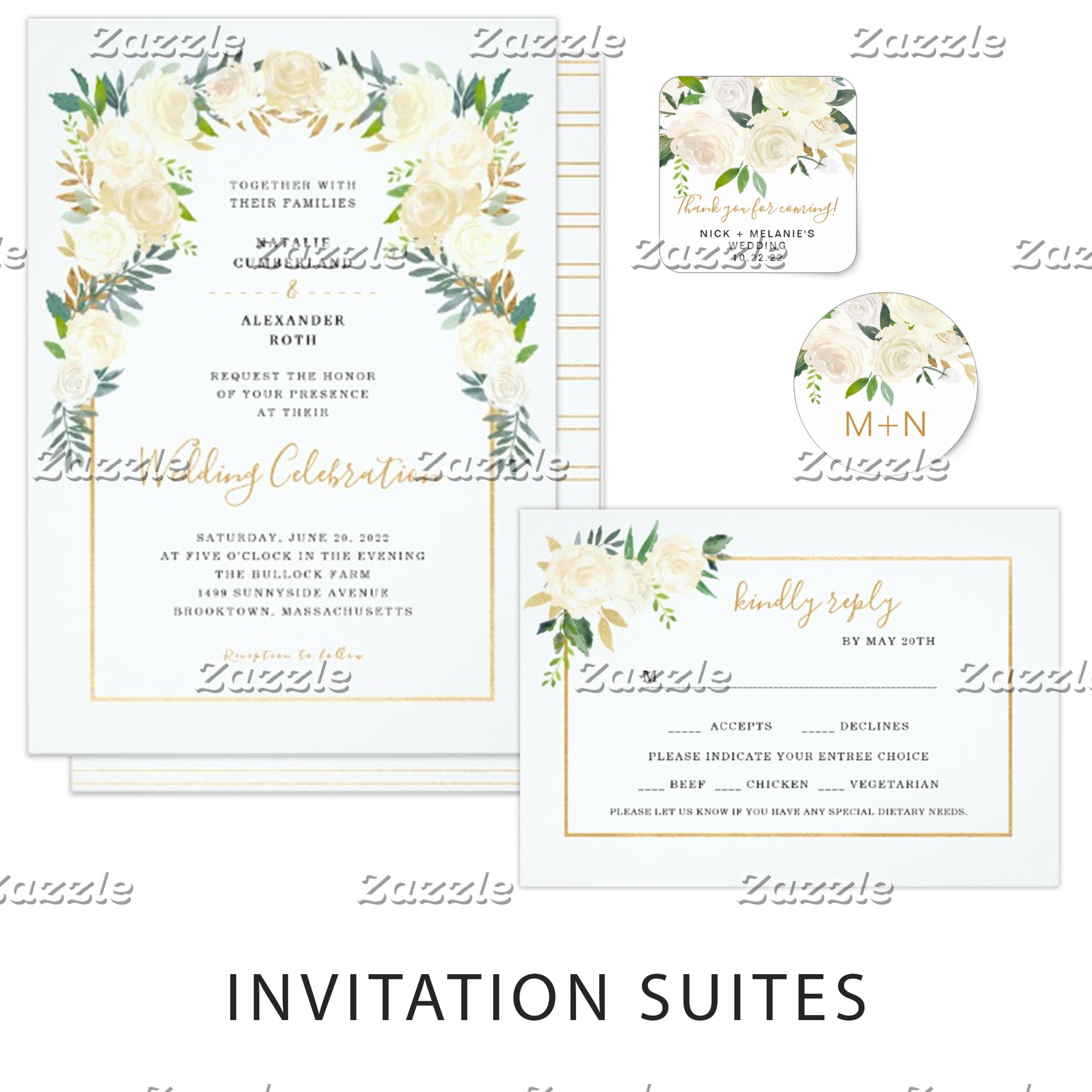Wedding Invites + Accessories