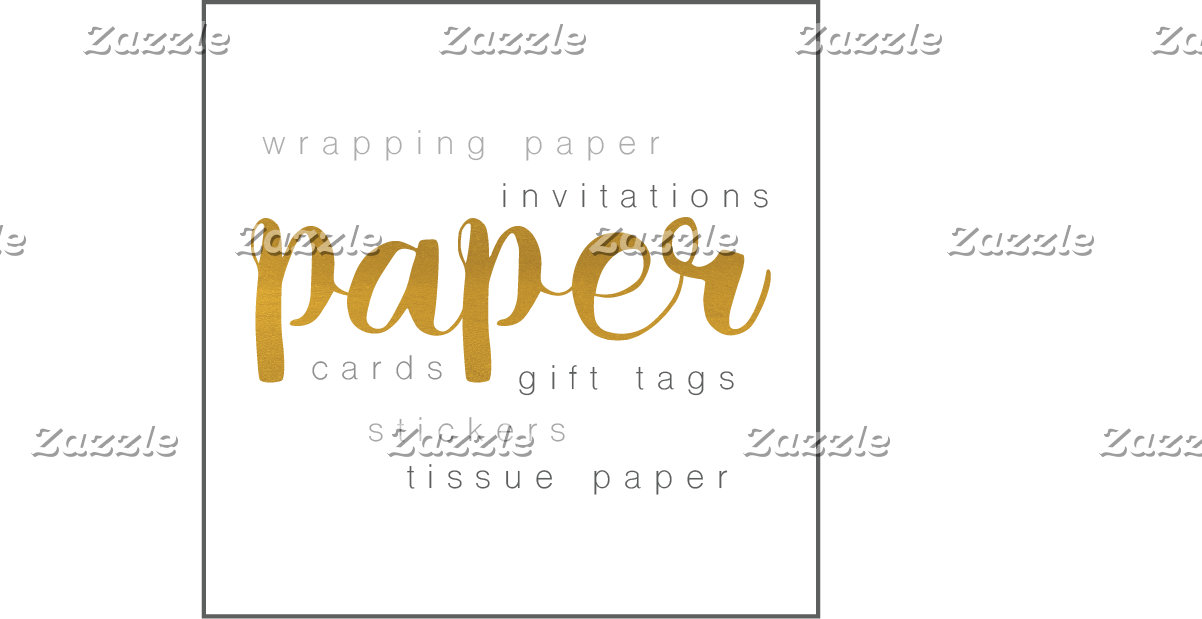 Invites, Paper & Stamps