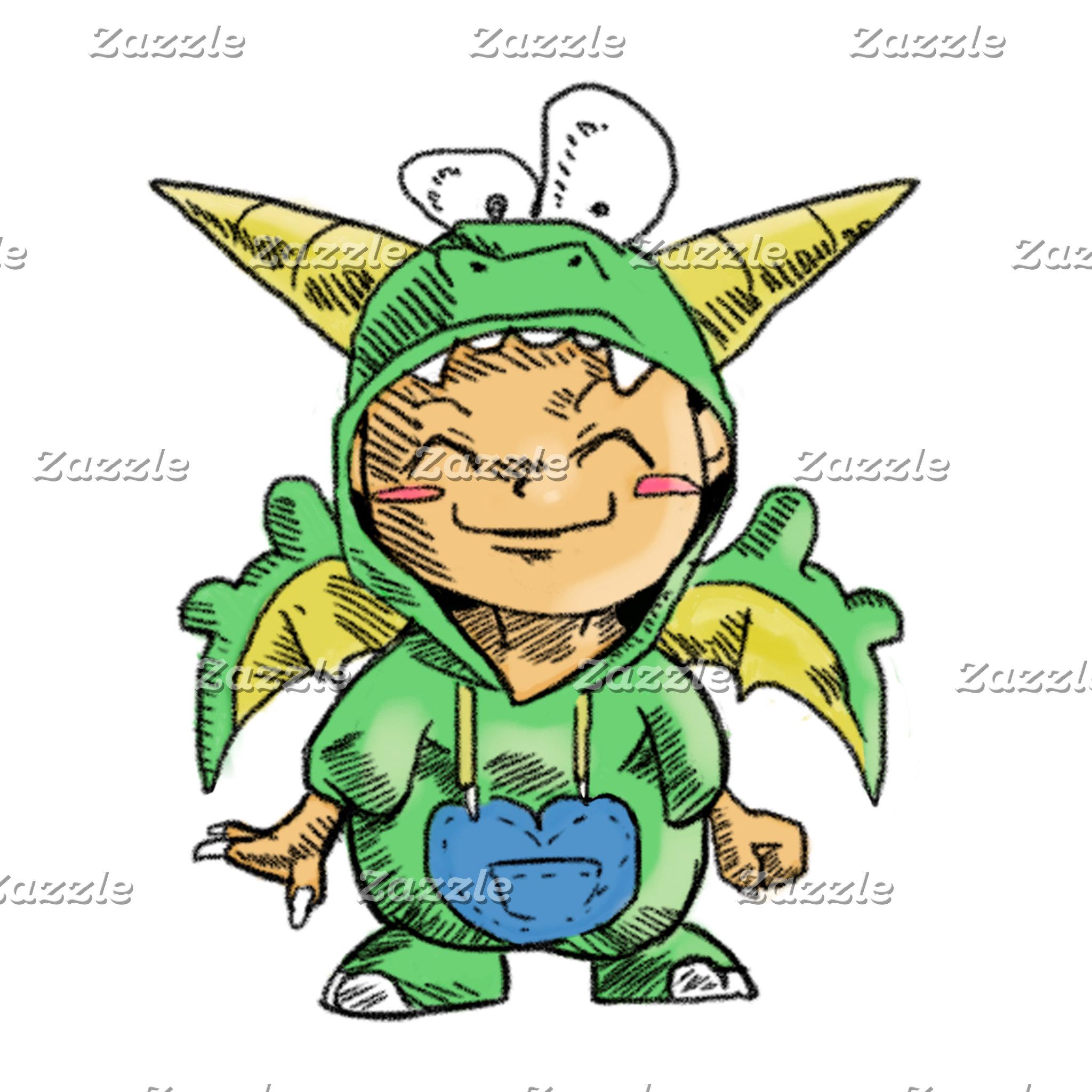 Cartoon - Dragon Boy