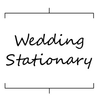 Other Wedding Stationary