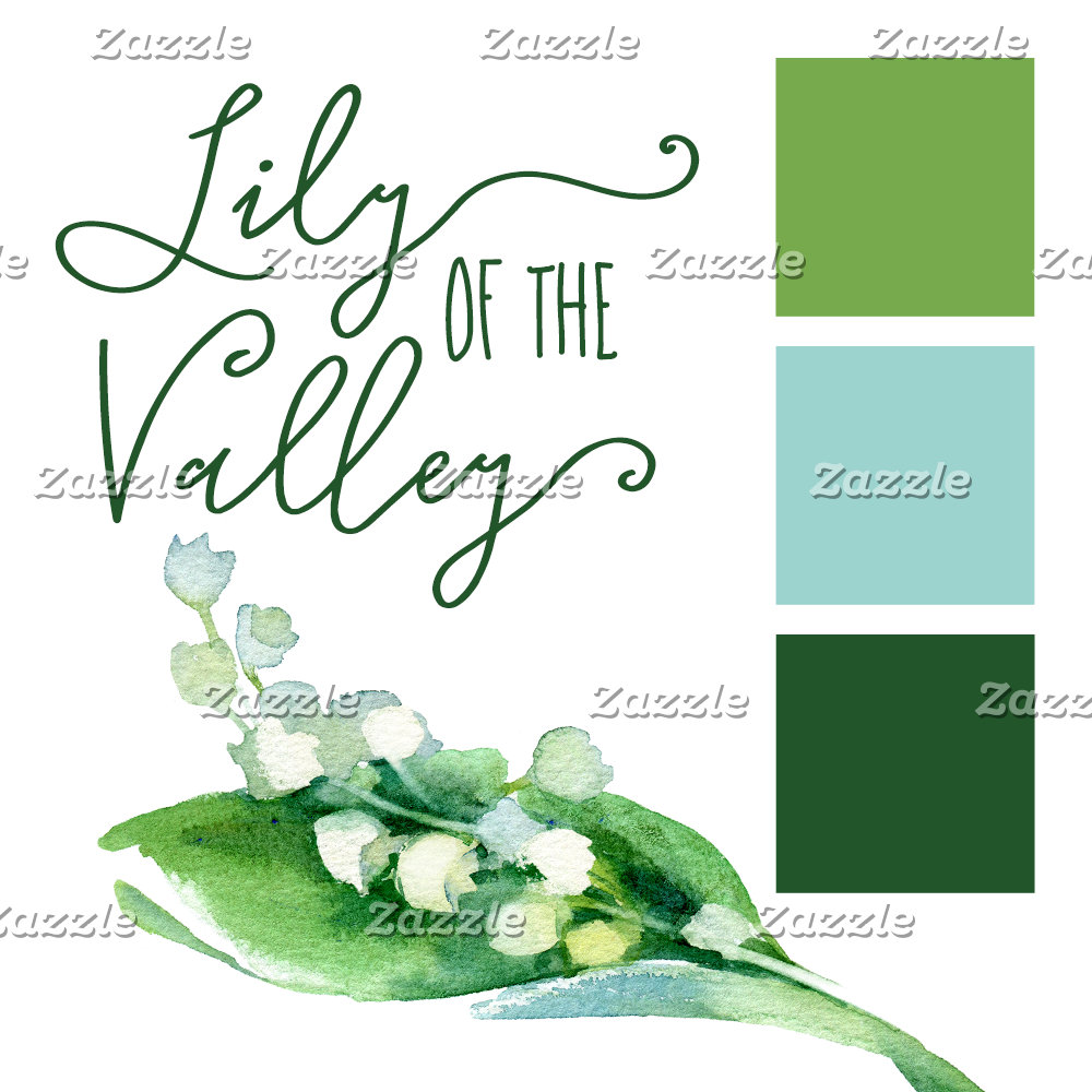 Lily Of The Valley Floral Spring Wedding