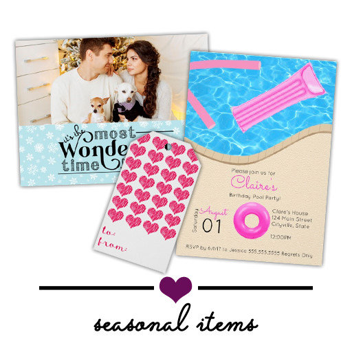 Seasonal Items