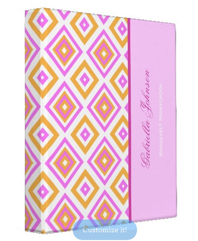 Diamond Print: Avery Signature Binders