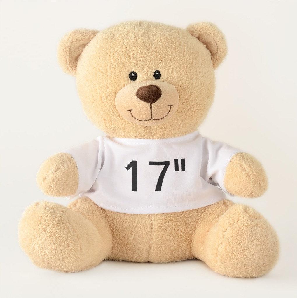 "17"" Teddy Bears - Favorite Script Font Examples"