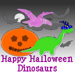 Happy Halloween Dinosaurs Products