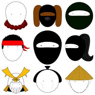 (new!) Ninja Characters