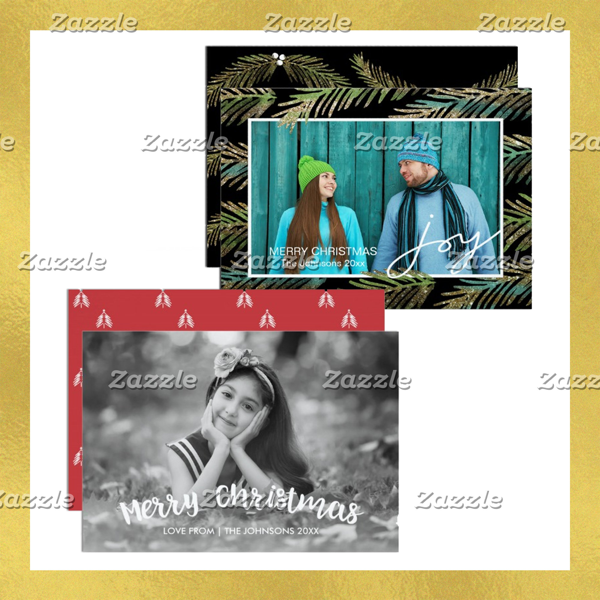 Christmas Photo Cards, Greeting Cards & Postcards