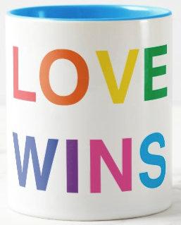 Love Wins Coffee Mugs