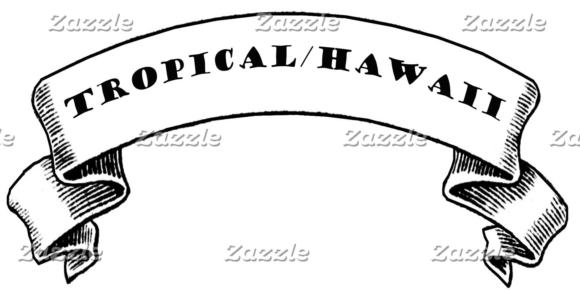 Tropical/Hawaii theme