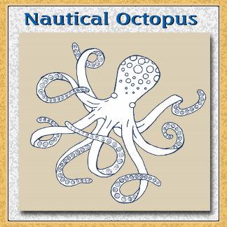 Sea Life Nautical Octopus