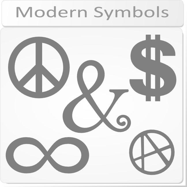 Modern Symbols