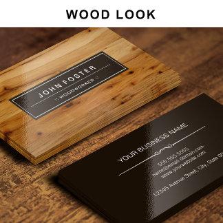 - Wood -