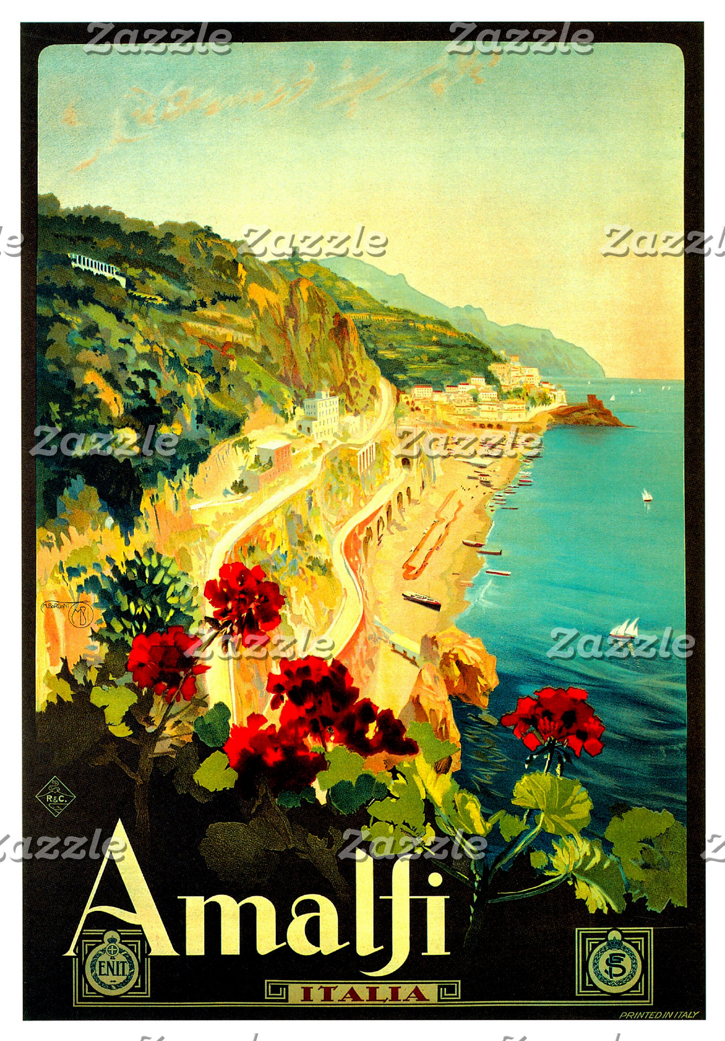 Vintage Advertisement Art