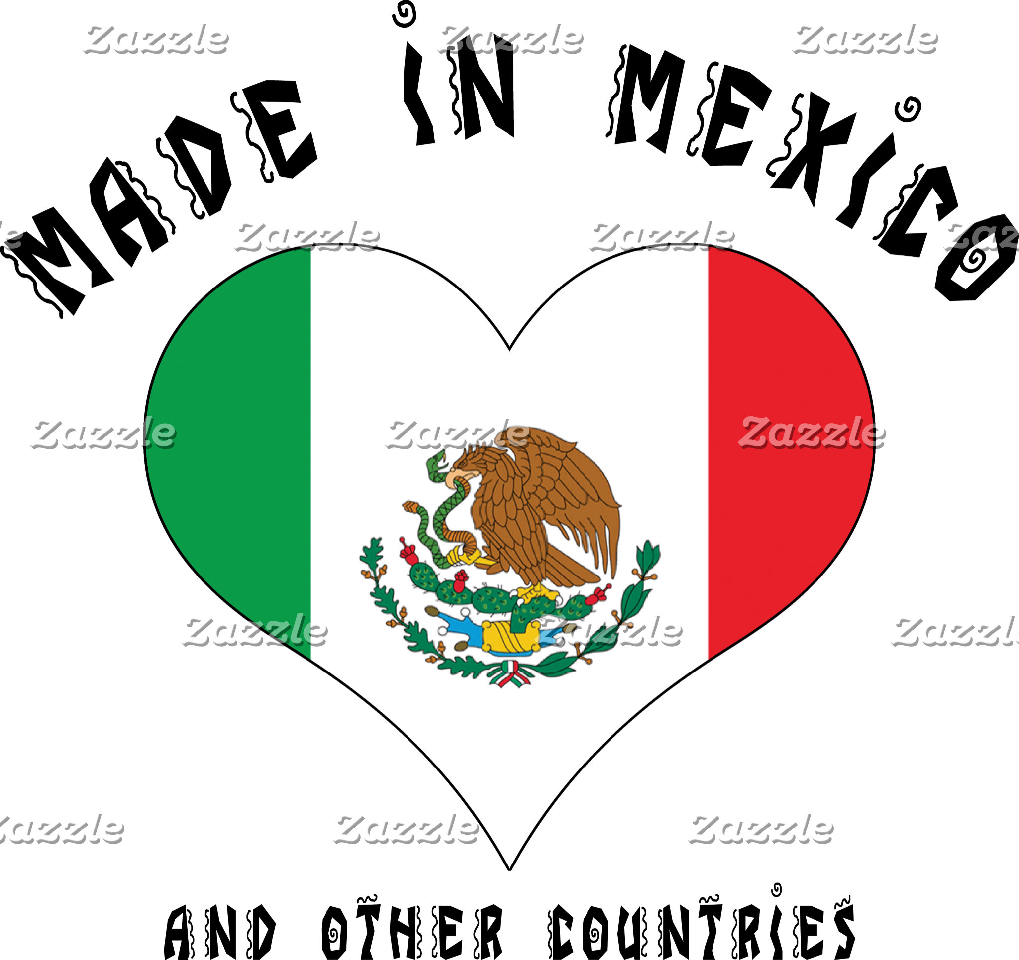 Funny Made In Mexico T-Shirt