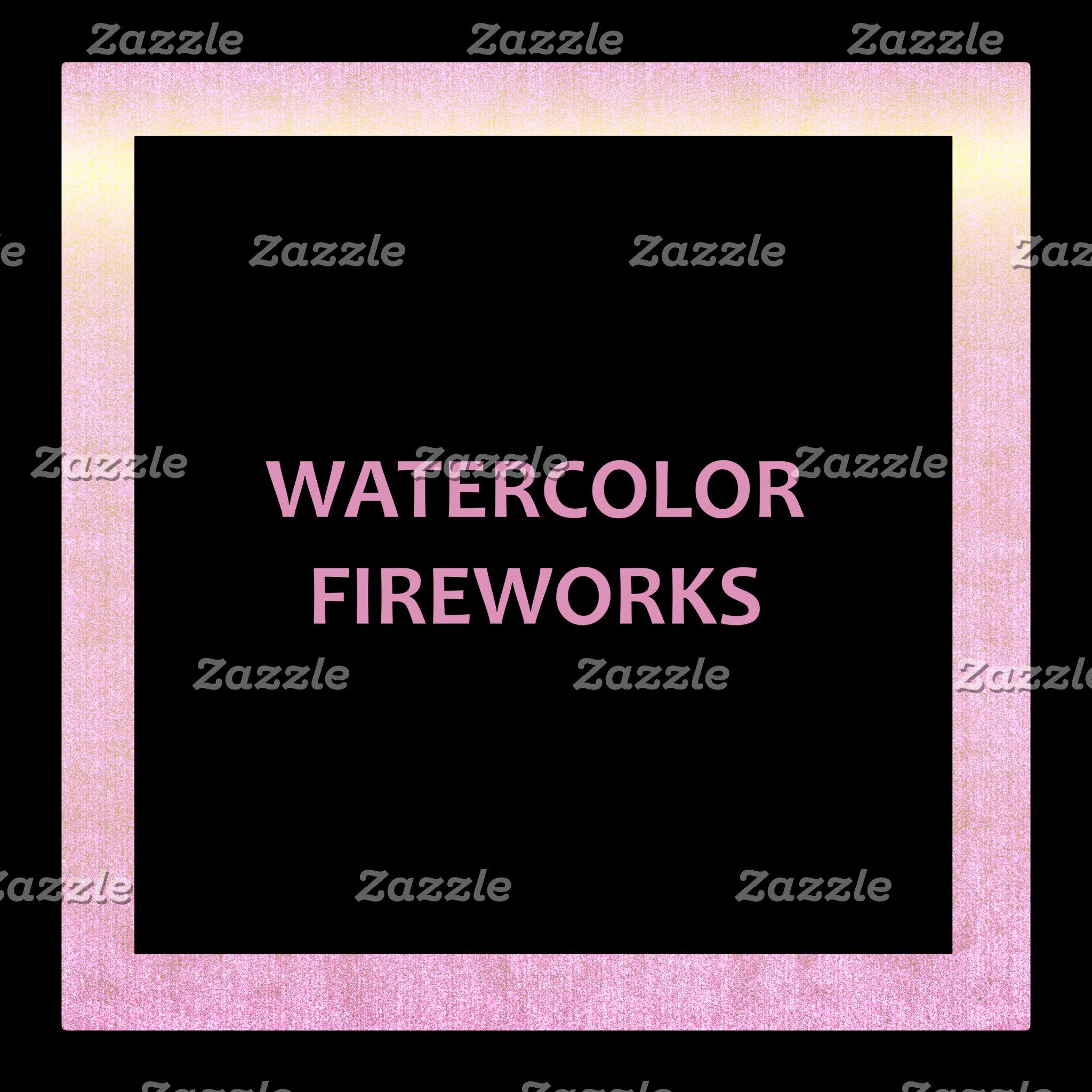 Watercolour Fireworks