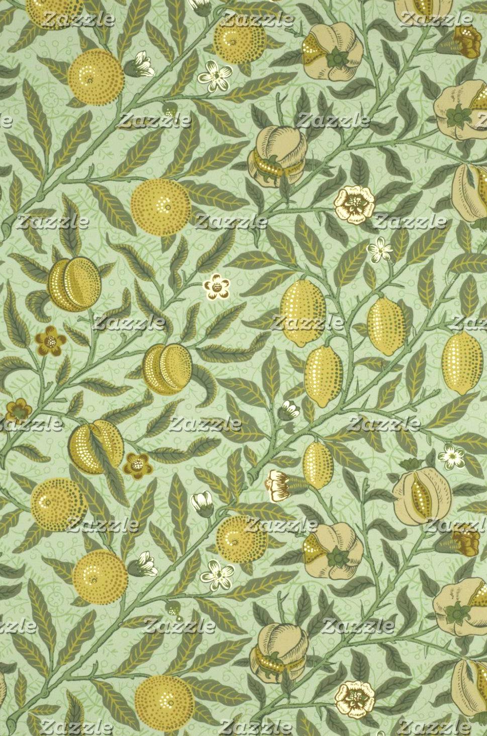 William Morris Pomegranate Fruit Design