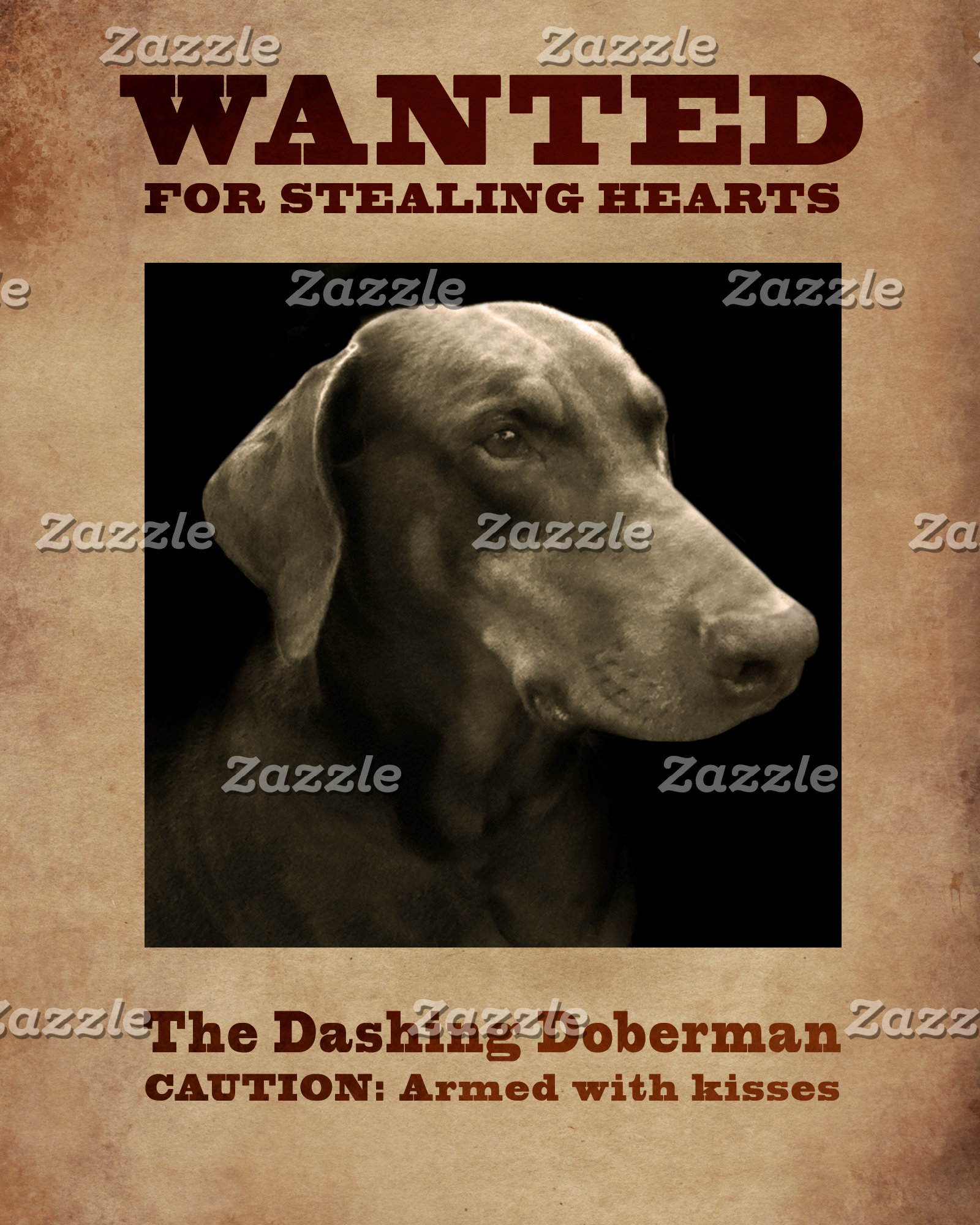 The Dashing Doberman