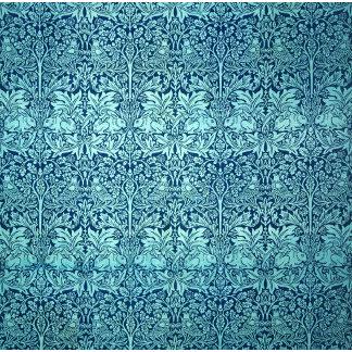 William Morris Brother Rabbit Pattern in Blue