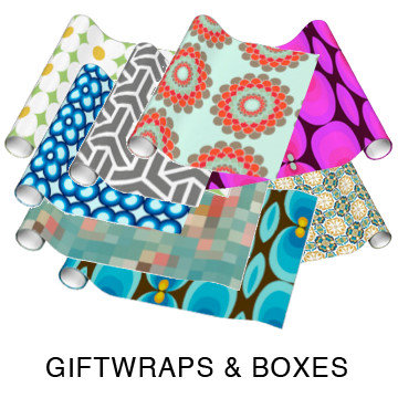 GIFTWRAP AND BOXES