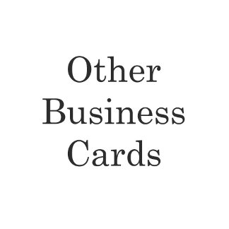 Other Business Cards