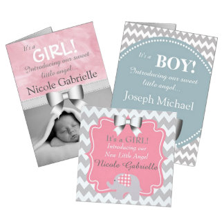 Personalized Baby Announcements