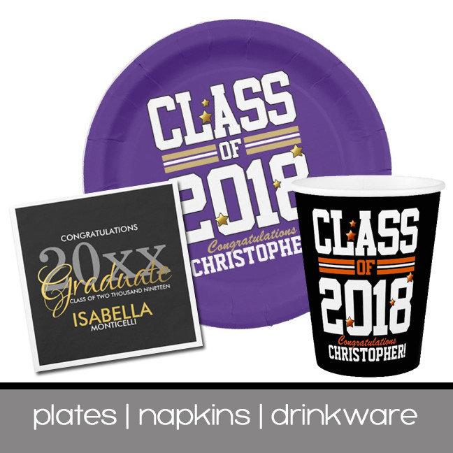 Plates   Napkins   Drinkware