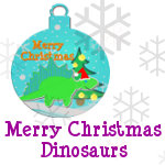 Merry Christmas Dinosaurs Products