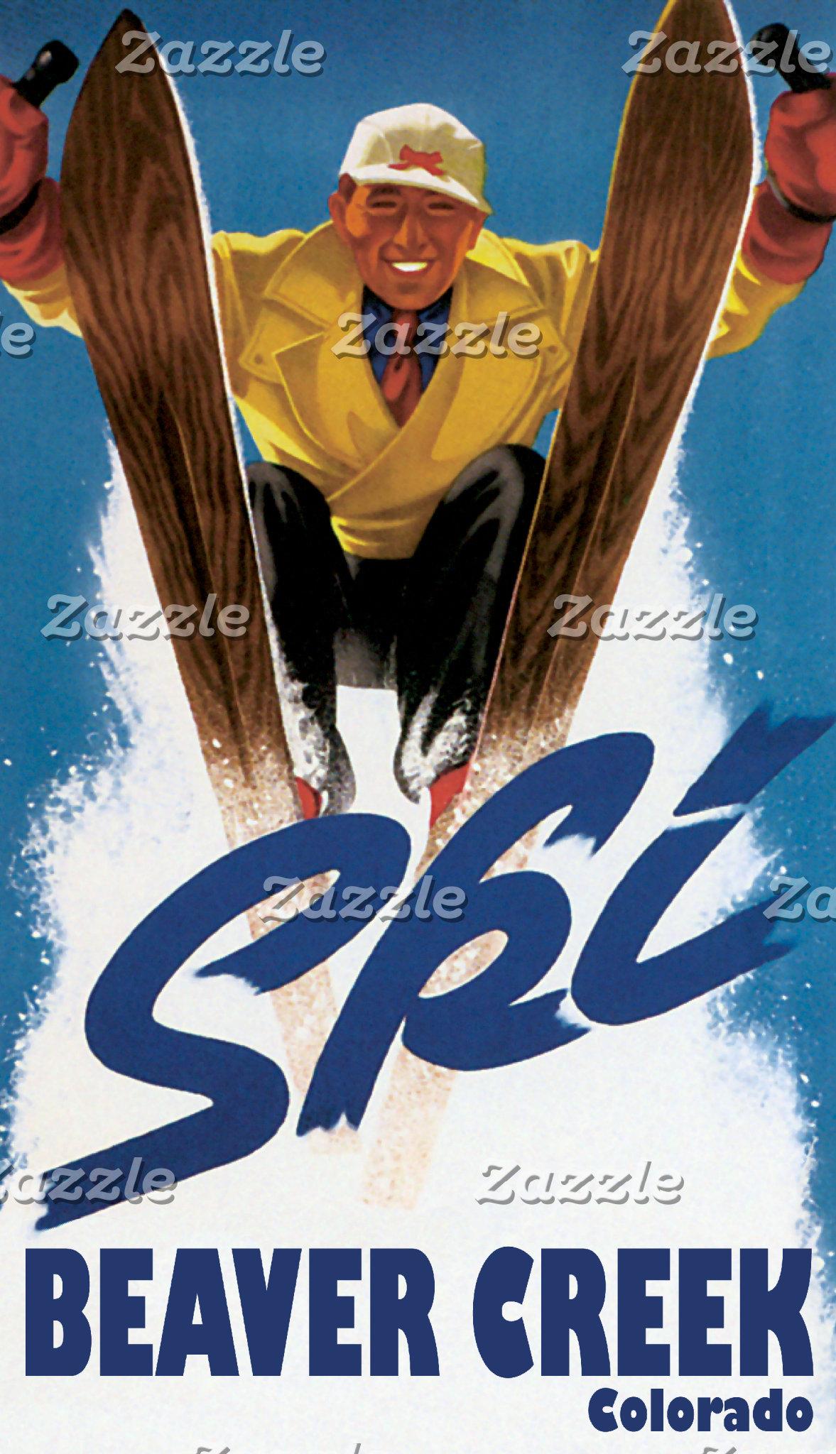 Ski Skiing Skier