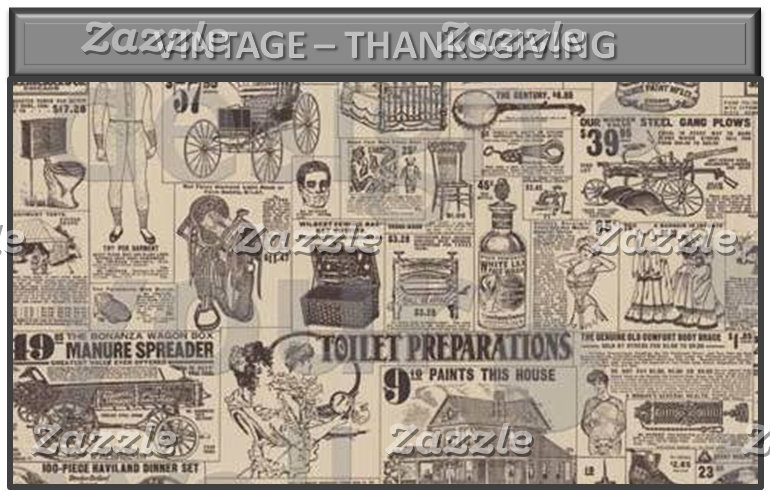 Vintage – Thanksgiving