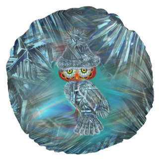 Crystallized Winter Fashion Owl