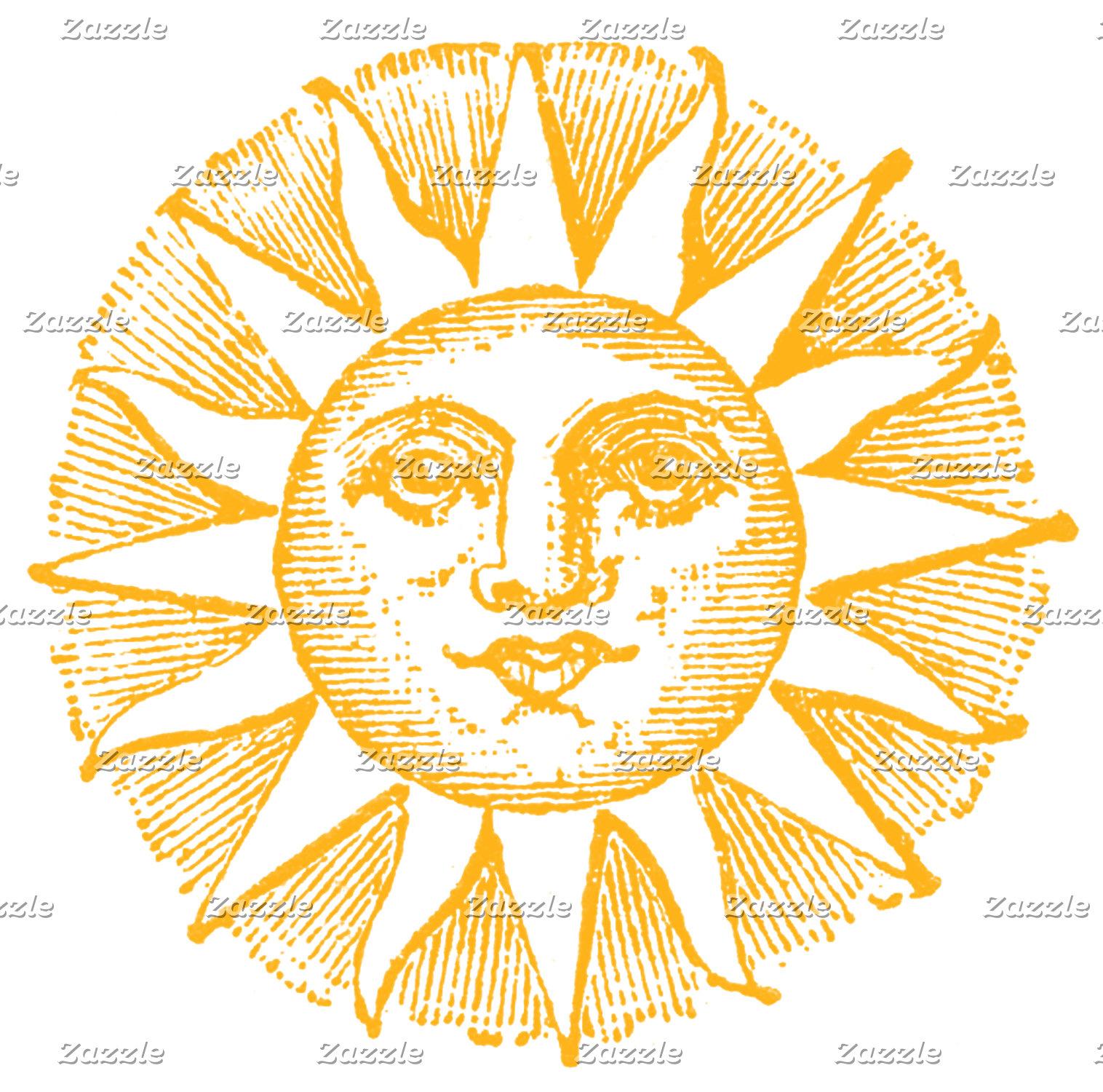 MOON SUN AND STARS