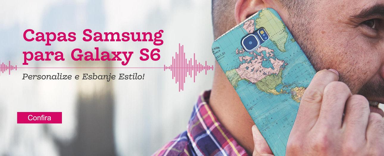 Capas para personalizar Samsung Galaxy6