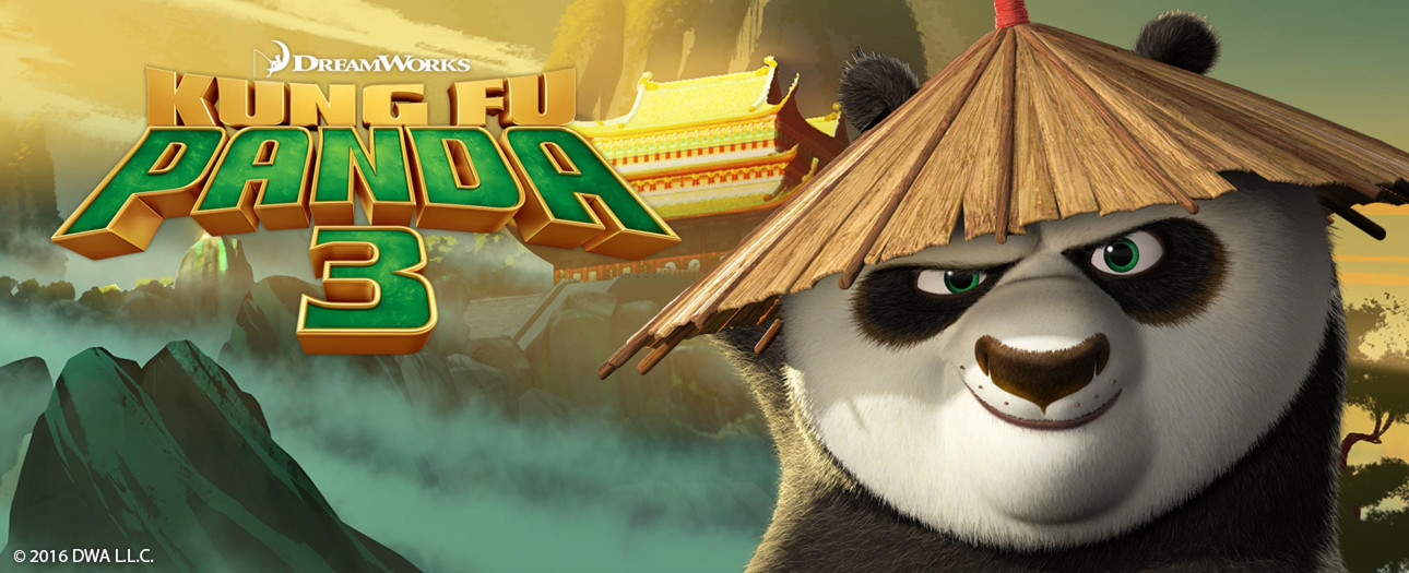 Add your own text on all our Kung Fu Panda products