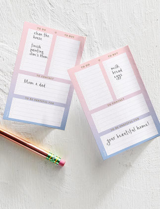 Blocos de Notas Post-it® com Listas na Zazzle