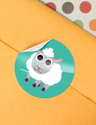 Adesivos personalizados. Adesivos para latinhas, festas e outros acessórios decorativos.