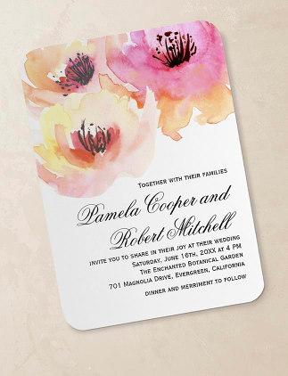 Convites de Casamento na Zazzle