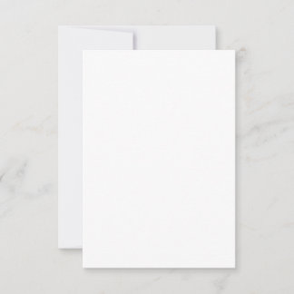 Cartão folha única 8,9 x 12,7 cm