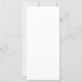 Cartão folha única 10,16 x 22,86 cm