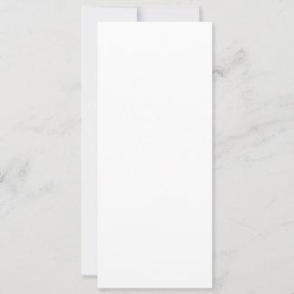 Cartão folha única 10,16 x 23,5 cm