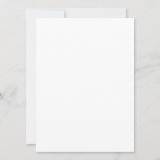 Cartão folha única 13,97 x 19,05 cm