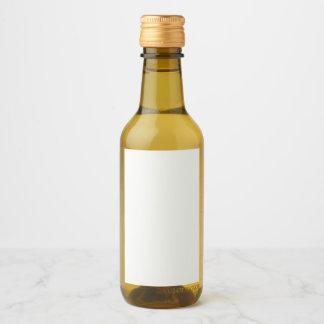 Rótulo para mini garrafas de vinho (5,08 x 7,62 cm) personalizável