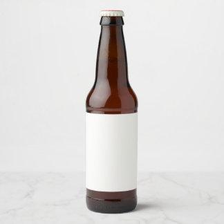 Rótulo para garrafa de cerveja (10,16 x 8,89 cm) personalizável