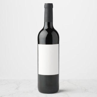 Rótulo para garrafa de vinho (8,89 x 10,16 cm) personalizável