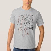 eu SOU o tigre Camisetas