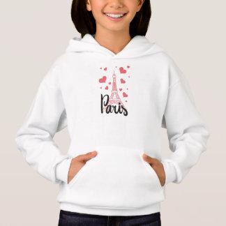 Sweat A Capuz Rapariga Paris