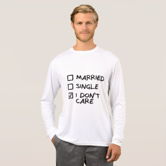 "SweatShirt Homem ""I don' t care"" (pohno-me) Camiseta"